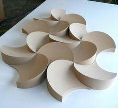 This is a sculpture Beton Design, Tile Design, Tile Patterns, Textures Patterns, 3d Pattern, Futuristic Architecture, Architecture Design, Conceptual Architecture, Plafond Design