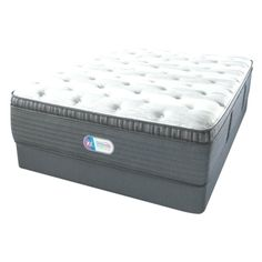 Beautyrest Platinum Haven Pines Luxurious Agency Pillow Prime Cal King Mattress Sets, King, Luxury