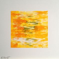 #302 | square abstract painting (original) | acrylic on white board | size 9 cm x 9 cm | boardsize 15 cm x 15 cm | https://www.etsy.com/shop/quadrART