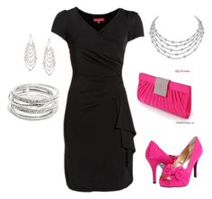 """""""Night out"""" by becky-patton-logan ❤ liked on Polyvore featuring rsvp and Jennifer Lopez"""