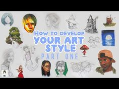 How to find your art style from scratch (part 1!) Beginner friendly | 2021 Art Bucketlist - YouTube First Video, Finding Yourself, Drawings, Youtube, Movie Posters, Painting, Design, Art, Style
