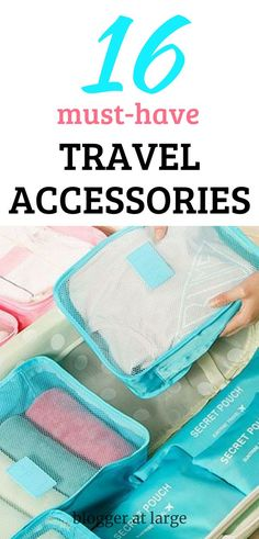 Check out these 16 fabulous accessories that are must-haves. #accessories #travel #bloggeratlarge