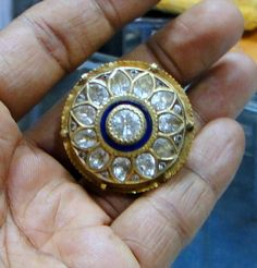 vintage antique 22 K solid gold pendant forehead by TRIBALEXPORT, $3999.00