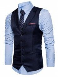 Men Casual Slim Fit Single Breasted Notch Collar Suit Vest is personalized, see other cheap mens vest on NewChic. Waistcoat Men, Mens Suit Vest, Mens Suits, Blazer Outfits Men, Formal Vest, Moda Formal, Sharp Dressed Man, Autumn Fashion Casual, Look Cool