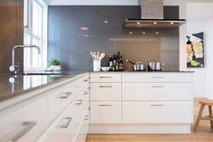 Hvite kjøkken – Birka | Drømmekjøkkenet