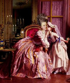 Marie Antoinette.. Her daughter ended up being her only child that survived past adolescence.. And in later years was excepted back into royalty.