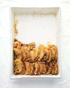 Maple-Pecan Bread Pudding Recipe