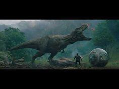 Watch the official trailer for Jurassic World: Fallen Kingdom starring Chris Pratt, Bryce Dallas Howard and Jeff Goldblum. Jurassic World T Rex, Jurassic World Fallen Kingdom, Bryce Dallas Howard, Godzilla, Falling Kingdoms, Chris Pratt, Volcan Eruption, Kingdom Movie, Jurassic Park