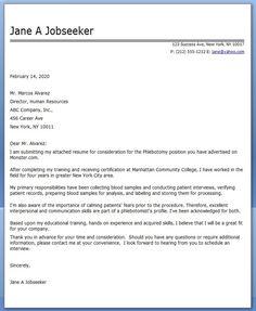 Cover Letter Sample For Internal Position Writing Program Manager
