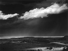 Ansel Adams: Thunderstorm over the Great Plains, near Cimarron, New Mexico, c. 1960