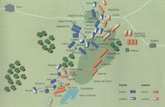 Schieramenti sul campo di battaglia di Austerlitz