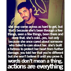 Drake Quotes | Cute Quotes ❤ liked on Polyvore