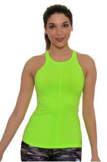 Fitness Apparel l New Balance Lime Glo Tank Top : WT71412