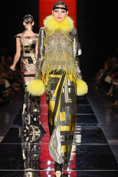 fall 2012 couture  Jean Paul Gaultier  Runway  Catherine McNeil (OUI)