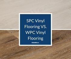 There are two main types of rigid core flooring from which to choose: SPC vinyl flooring and WPC vinyl flooring. Types Of Flooring, Vinyl Flooring, Learning Centers, Floor Design, Innovation Design, Remodeling, Tile Floor, Core, Stylish