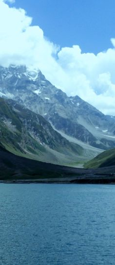 Lake Saiful Maluk, Naran, is the most beautiful lake in the Northern Area, Kaghan Valley in Pakistan. Pakistan, Most Beautiful, Religion, Around The Worlds, Culture, Mountains, Learning, Wallpaper, Places