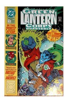 Green Lantern Corps Quarterly #1 (Summer 1992, DC) - FVF