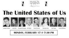The United States of Us: Musical Mondays at Curtain Call, Stamford; February 17, 2014