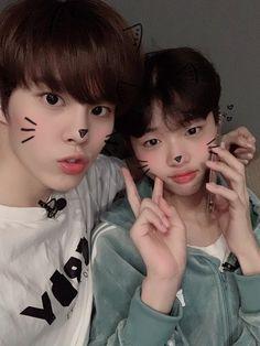Woseok and dongpyo