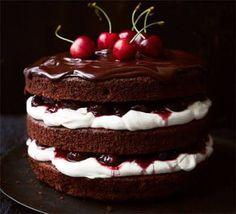 Black Forest Cherry Cake-Vegan Dessert