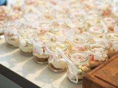 Mini Marshmallow & White Chocolate Cheesecakes