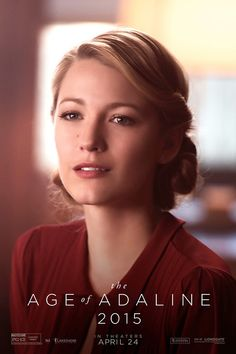 Blake Lively's The Age of Adaline 60s look