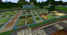 рабочая площадь фермы майнкрафт #4