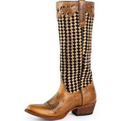 Macie Bean Western Boots Womens JacksBasket Weave M3008