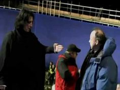▶ Behind the Scenes : Severus Snape// Ultimate Harry Potter and the Sorcerer´s Stone - YouTube