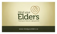 Mind Your Elders BizCard Front
