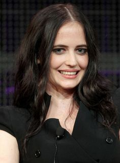 Eva Green Photos Photos - Actor Eva Green speaks during the 'Camelot' panel at the Starz portion of the 2011 Winter TCA press tour held at the Langham Hotel on January 7, 2011 in Pasadena, California. - 2011 Winter TCA Tour - Day 3