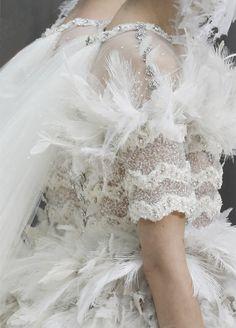 wink-smile-pout:  Chanel Haute Couture Spring 2013 Details