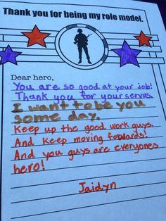 Any Hero letter