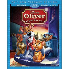 Oliver and Company (25th Anniversary Edition) (2 Discs) (Blu-ray)