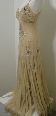 gorgeous Art Deco 20's Flapper gown