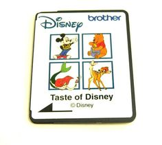 Brother - Taste of |Disney - SA306D- Disney Home - Embroidery Card by TheEclecticBazzar on Etsy