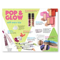Pop & Glow with the NEW 2015 Summer Products from Mary Kay!! Find the customizable flier only at www.thepinkbubble.co!