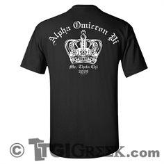 TGI Greek Tshirt - Alpha Omicron Pi - Mr. Theta Chi