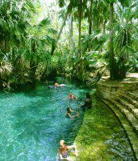 Mataranka Hot Springs - Australia