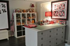 bitty bits & pieces: Sewing Room Makeover