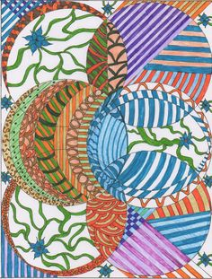 Zentangle 7 - art - my creation