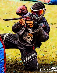Duck and Cover Paintball Team - Colombia - Bogotá - CCP - Vicente.