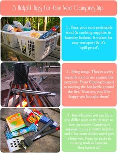 Oh gosh! I'm pinning about camping tips!