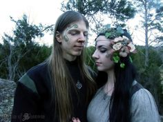 Tales of Sheaves: The Awakening of Spring-spring equinox, fairy, celtic, elven inspired fairytale couple #talesofsheaves