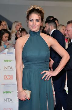 Gemma Atkinson Photos Photos - Gemma Atkinson attends the 21st National Television Awards at The O2 Arena on January 20, 2016 in London, England. - National Television Awards - Red Carpet Arrivals