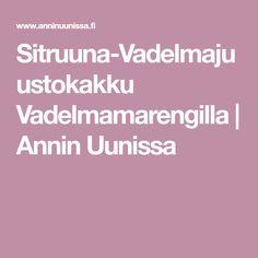 Sitruuna-Vadelmajuustokakku Vadelmamarengilla | Annin Uunissa