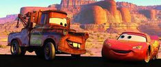"Mater: ""My name is ‪#‎Mater‬."" ‪#‎LightningMcQueen‬: ""Mater?"" Mater: ""Yeah, like tuh-mater, but without the 'tuh'."" ‪#‎Cars‬ ‪#‎Disney‬"