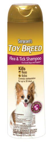 Sergeants Flea and Tick Shampoo Toy Breed 12Ounce >>> You can get additional details at the affiliate link Amazon.com.
