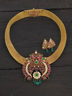 Extraordinary Ruby Temple Jewellery from ARNAV - MinMit