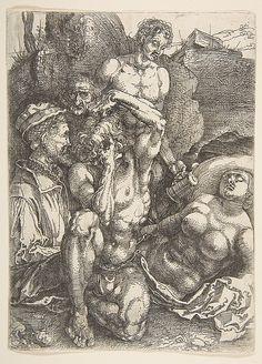 The Desperate Man - Albrecht Dürer